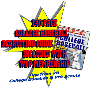 The High School Athletes e Guide to College Baseball Included